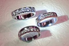 Valkokultaa ja timantteja