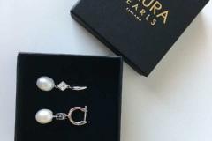 Gaura-Pearls-Ihanat-Helmikorvikset-hääjuhlaan